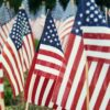 American Flags Photo by Valentino Funghi on Unsplash | Virtual Memorial Day | Snag-A-Slip