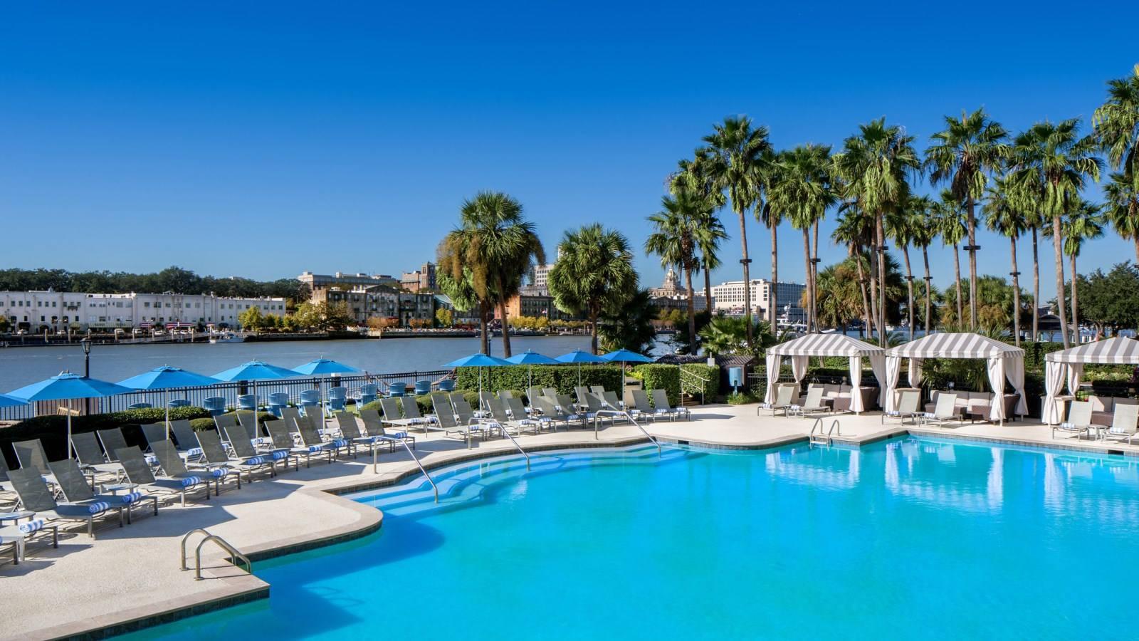 Westin Savannah Harbor Golf Resort and Spa swimming pool