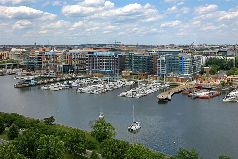 The District Wharf D.C. - new marina in Washington D.C.